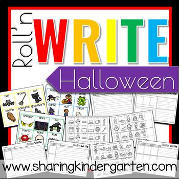 Roll'n Write Halloween