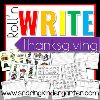 Roll'n Write Thanksgiving