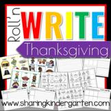Roll'n Write Thanksgiving