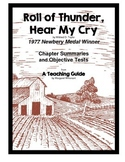 Roll of Thunder, Hear My Cry Summaries and Objective Tests