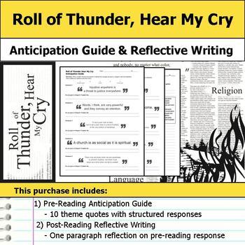Roll of Thunder, Hear My Cry Novel Study