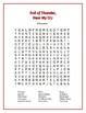 Roll of Thunder, Hear My Cry: 5 Novel-Based Word Searches
