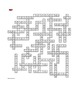 Roll of Thunder, Hear My Cry: Prereading Vocab Crossword—Great Prep for the Book