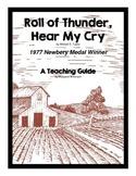 Roll of Thunder, Hear My Cry Novel Study Teaching Guide