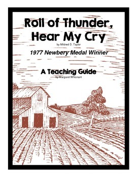 Roll of Thunder, Hear My Cry Novel Study Teaching Guide