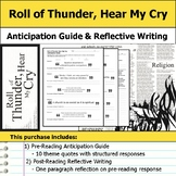 Roll of Thunder, Hear My Cry - Anticipation Guide & Reflection