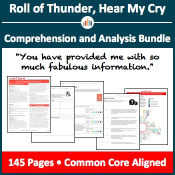 Roll of Thunder, Hear My Cry – Comprehension and Analysis Bundle