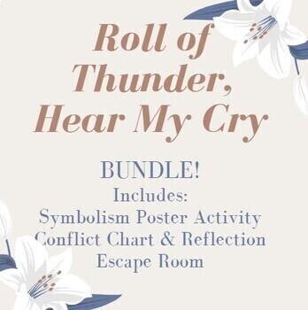 BUNDLE- Roll of Thunder, Hear My Cry Conflict & Symbolism