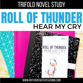 Roll of Thunder, Hear My Cry Foldable Novel Study Unit