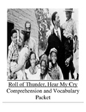 Roll of Thunder, Hear My Cry Guided Reading Unit Level W