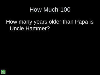 Roll of Thunder, Hear My Cry Jeopardy 2