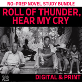 Roll of Thunder, Hear My Cry Literature Guide BUNDLE   DISTANCE LEARNING