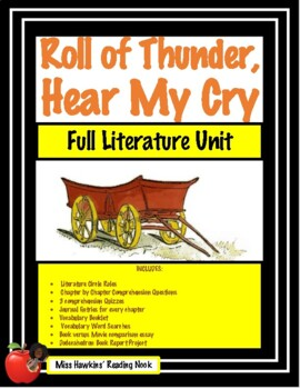 Roll of Thunder, Hear My Cry Literature Unit