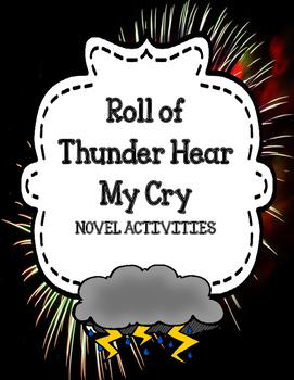Roll of Thunder Hear My Cry - Novel Activities Unit