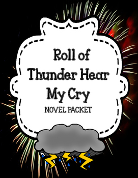 Roll of Thunder Hear My Cry - Novel Unit Comprehension and Vocabulary