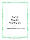 Roll of Thunder, Hear My Cry Novel Unit Plus Grammar