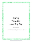 Roll of Thunder, Hear My Cry Literature Unit Plus Grammar