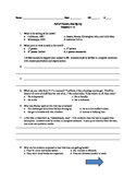 Roll of Thunder Hear My Cry Quiz Packet - 5 Quizzes