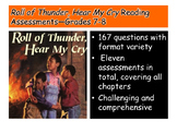 Roll of Thunder, Hear My Cry Reading Assessments—Grades 7-8
