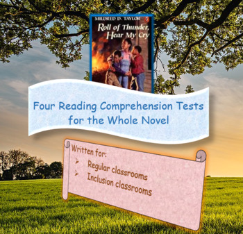 Roll of Thunder Hear My Cry Reading/Listening Comprehension Tests