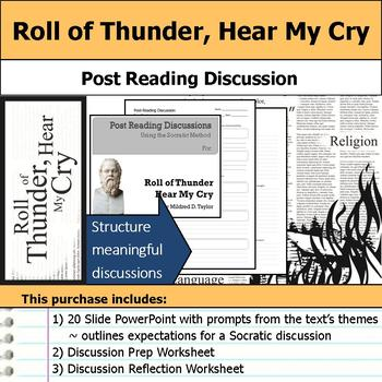 Roll of Thunder, Hear My Cry - Socratic Method - Post Reading Discussions