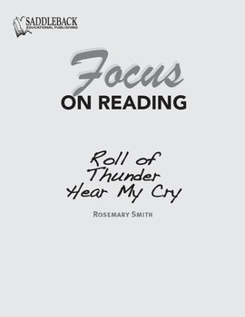Roll of Thunder, Hear My Cry Study Guide: Focus on Reading