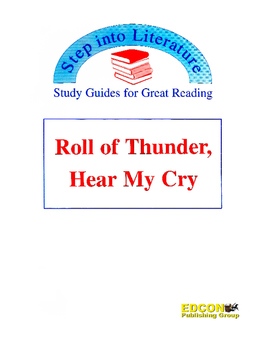Roll of Thunder Hear My Cry Study Guide for Great Reading