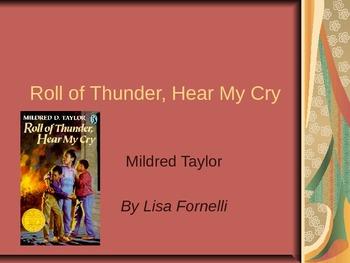 Roll of Thunder, Hear My Cry Theme Unit