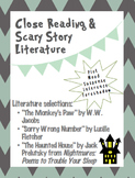 Scary Story Lit: Text Dependent Questions, Close Reading &