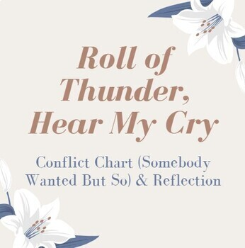 Roll of Thunder, Hear My Cry Conflict Chart & Reflection