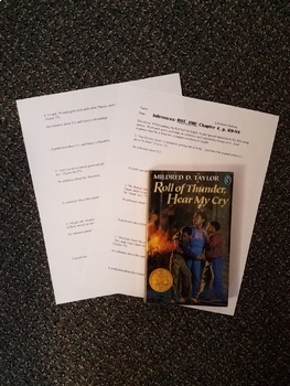 Roll of Thunder, Hear My Cry chapter 4 Inference and Prediction based on quotes