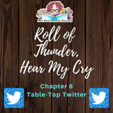 Roll of Thunder, Hear My Cry chapter 6 Table Top Twitter Activity