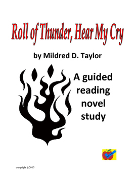 Roll of Thunder, Hear My Cry guided reading novel study