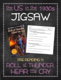 Roll of Thunder, Hear my Cry pre-reading: the US in the 1930s jigsaw