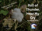 Roll of Thunder Hear My Cry reading comprehension GAMES