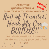 Roll of Thunder Hear My Cry - worksheets, question trail, test and study guide