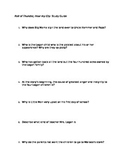 Roll of Thunder, Hear my Cry Study Guide on Chapters 1-6