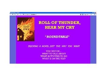 Roll of Thunder Novel Study