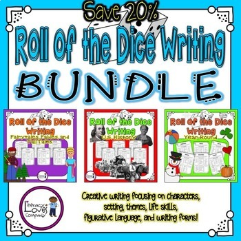 Roll of the Dice Creative Writing  {Bundle}