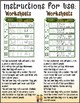 Roll the Dice & Learn Your Letters Worksheet Bundle