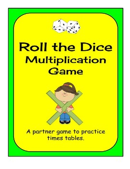 Roll the Dice - Multiplication Game