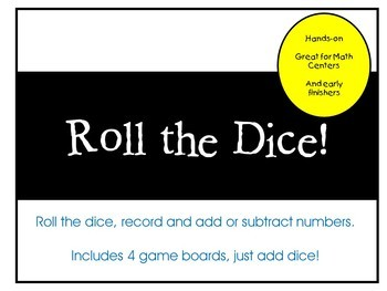 Roll the Dice gameboards