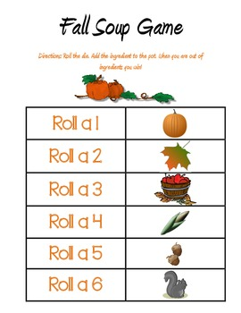 Roll-the-Die Fall Center Game