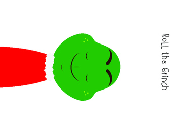 Roll the Grinch Printable Game