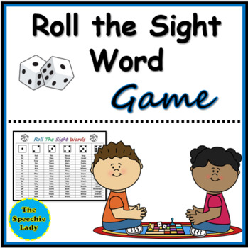 Roll the Sight Words