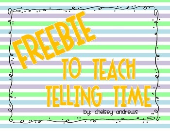 Roll the Time {A Freebie}