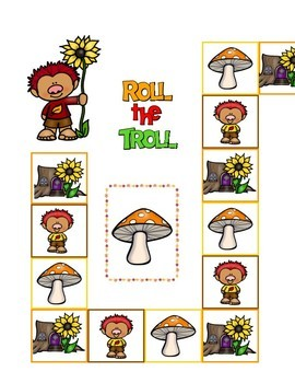 Roll the Troll Game:  Self Control, Anxiety, Anger & Social Skills