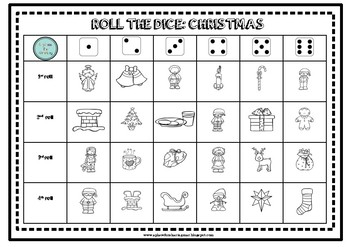 Roll the dice Christmas