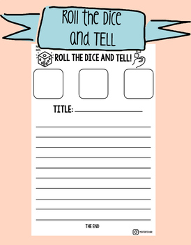 Roll the dice and write / tell - Story Cubes