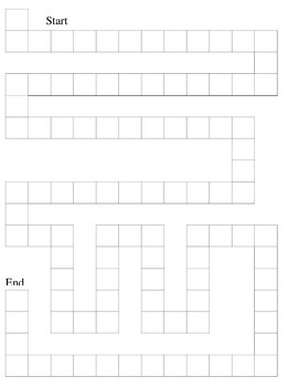Roll to 100 Blank Sheet